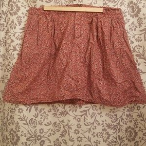 *FINAL PRICE!* Gap floral skirt with pockets